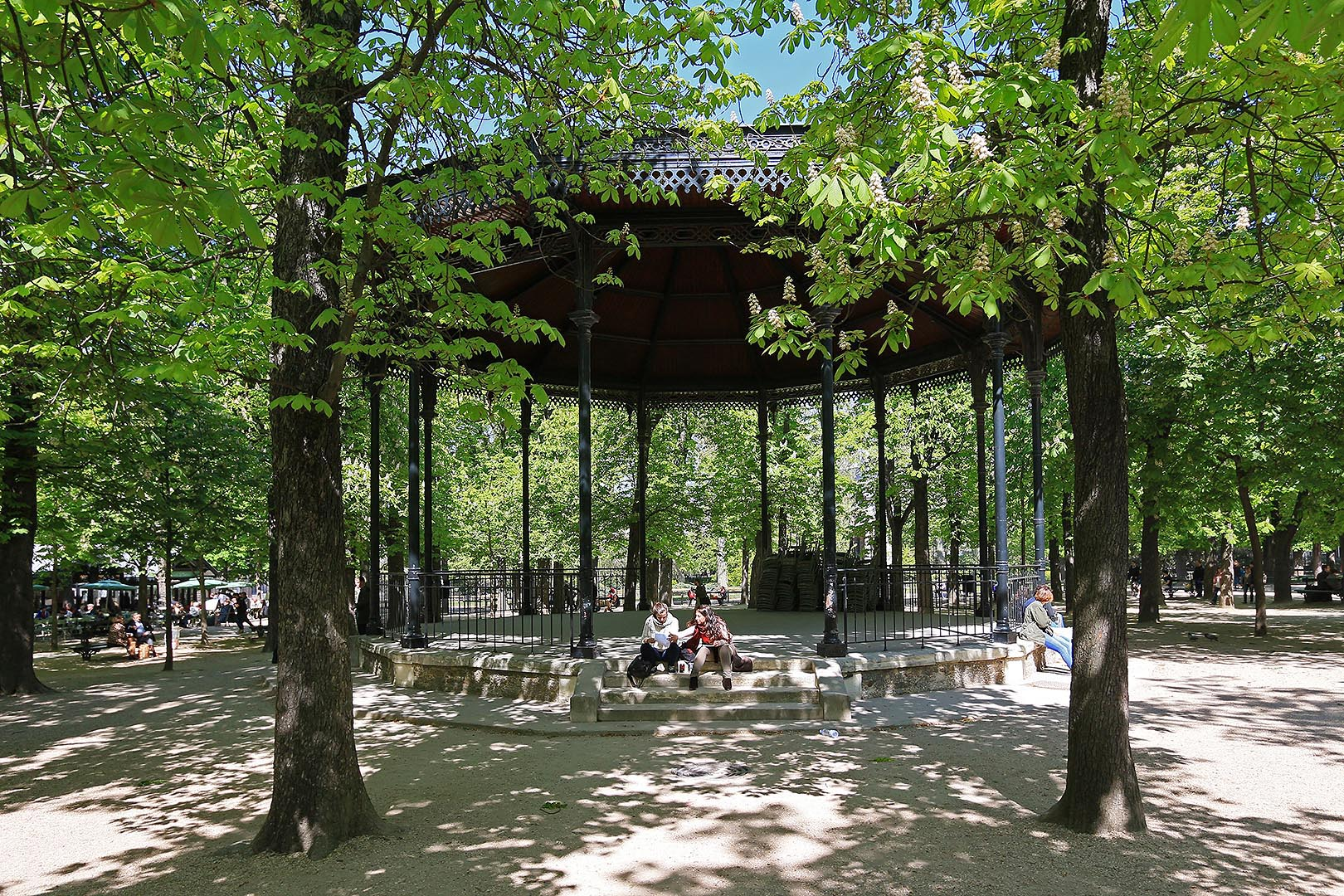 France musique for Jardins paris 2015