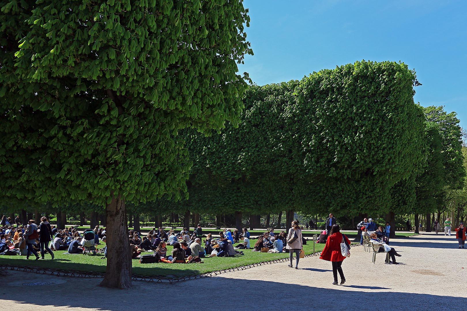 Jardin du luxembourg for Jardin remarquable ile de france