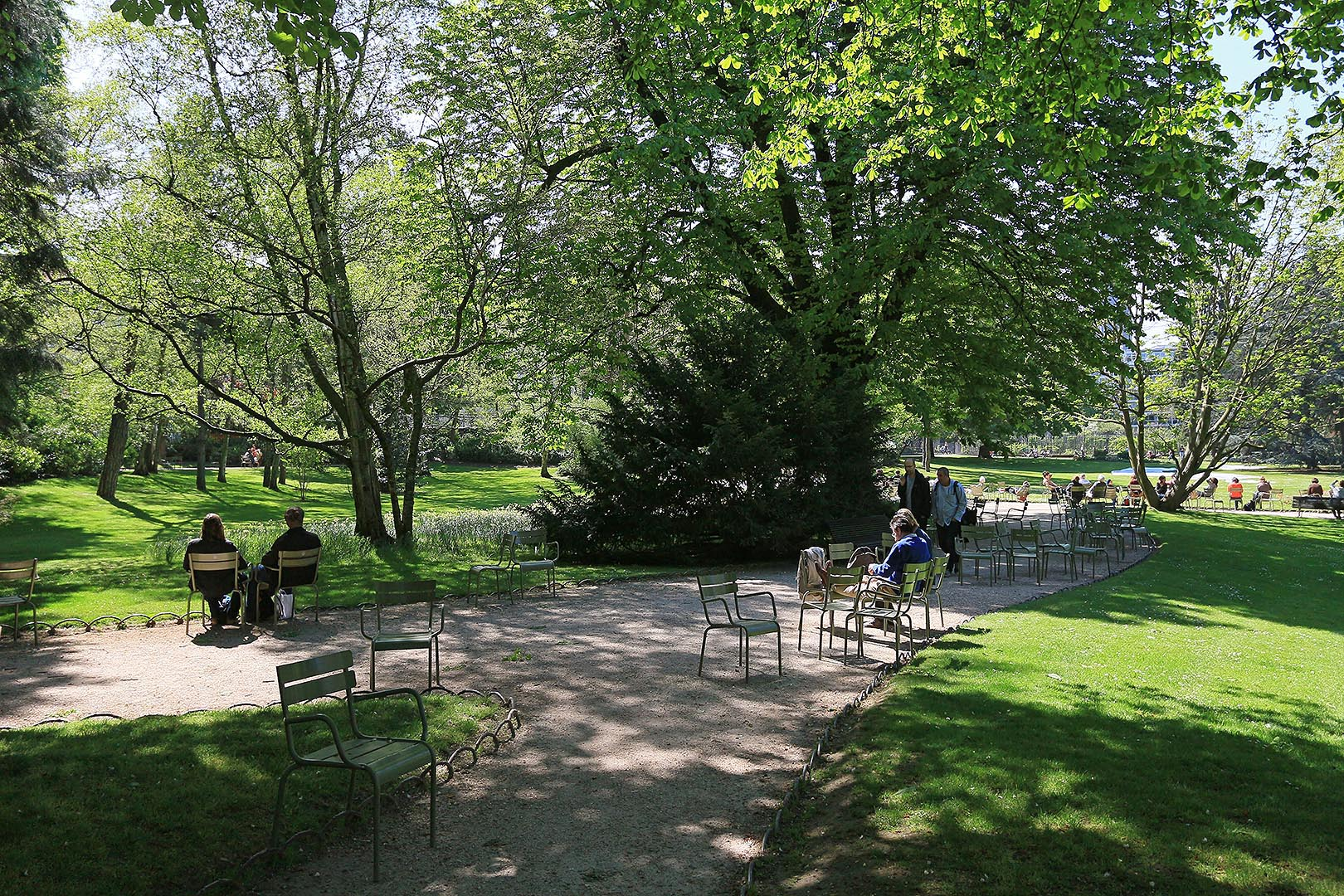 Jardin du luxembourg for Jardins paris 2015
