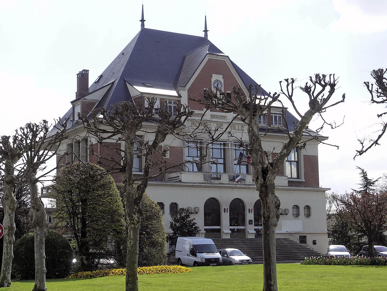 Mairie Sainte Genevieve Des Bois - Plan détai